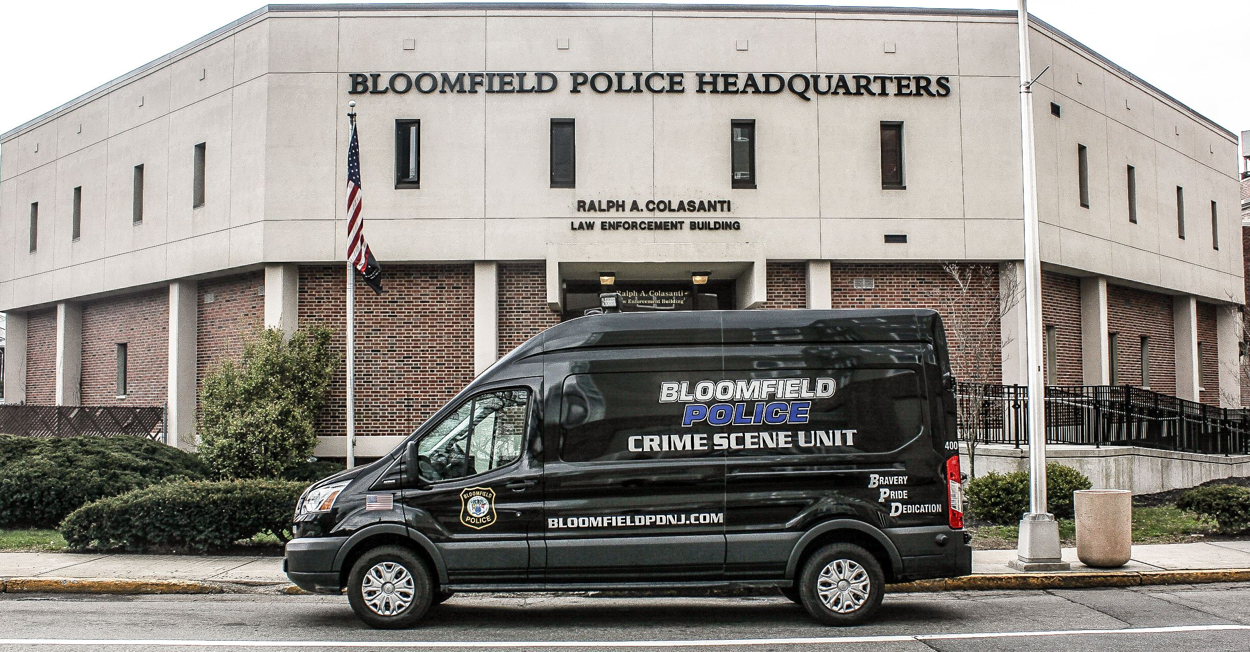 Police Headquarters Van